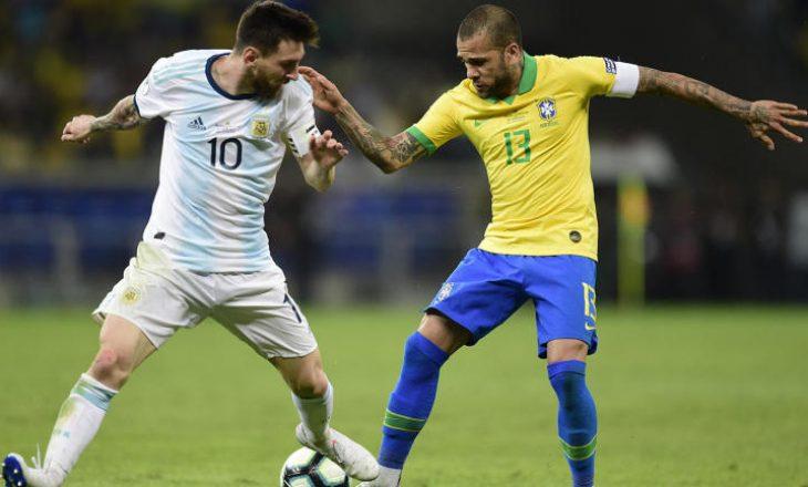Dani Alves i ribashkohet Brazilit për kualifikimet e Botërorit