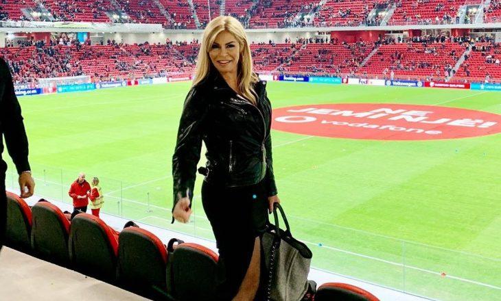 """Manjola Nallbani vjen me poza tërheqëse nga """"Air Albania Stadium"""""""