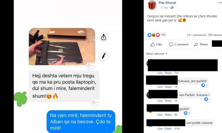 Vazhdojnë mashtrimet në Facebook – një faqe po 'dhuron' shpërblime të rrejshme