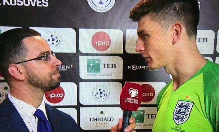 Portieri i Anglisë lavdëron Kosovën pas ndeshjes