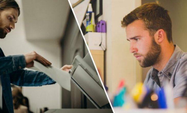 Punëtorët e zyrave shajnë mesatarisht 55 herë në javë