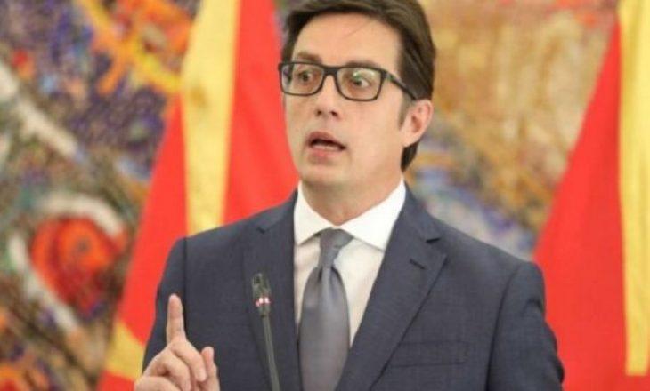 Pendarovski: Shkupi nuk duhet të lobojë për pavarësinë e Kosovës