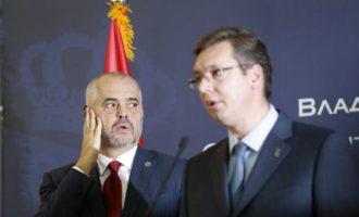 Edi Rama interesohet për gjendjen e Vuçiqit, e thërret në telefon
