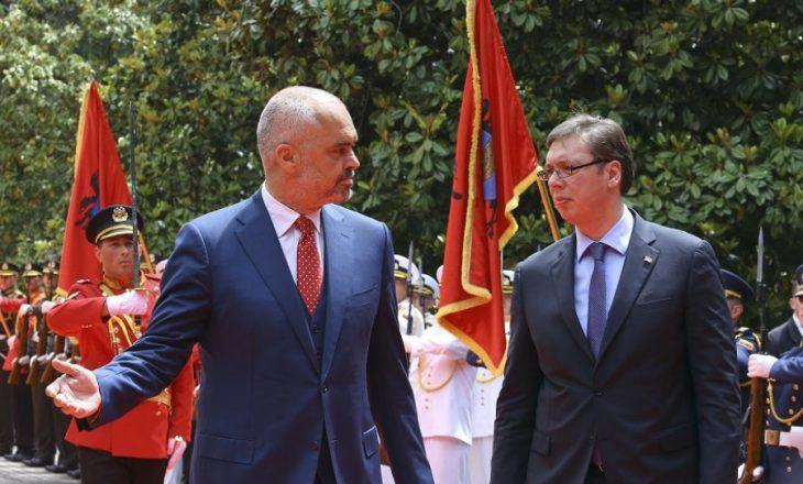 Aleksandar Vuçiq viziton Tiranën