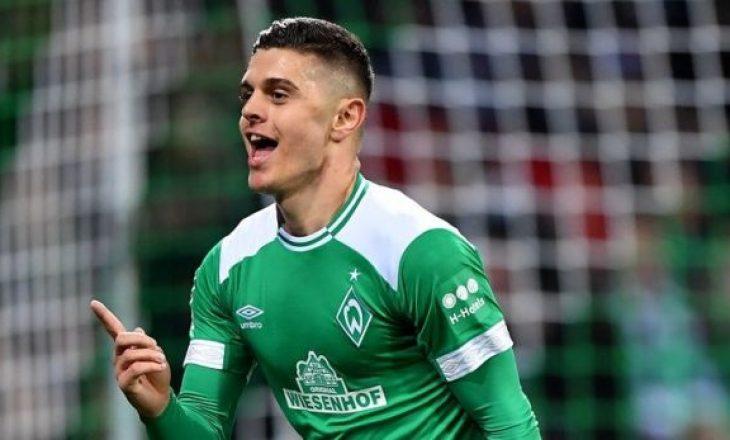 Rashica garon për çmimin Lojtari i Muajit në Bundesligë