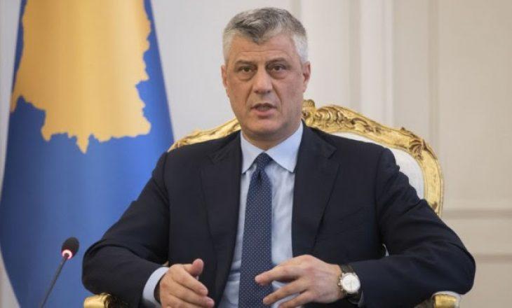 Presidenti Thaçi: Kosova nuk merr pjesë në Samitin e Ohrit