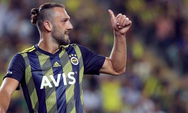 I shënoi dy gola në fitoren e Fenerbahces, vjen 'shpërblimi' për Vedat Muriqin