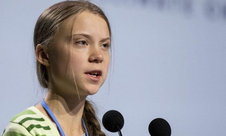 Greta kërkon falje pasi tha se politikanët duhet mbështetur për muri
