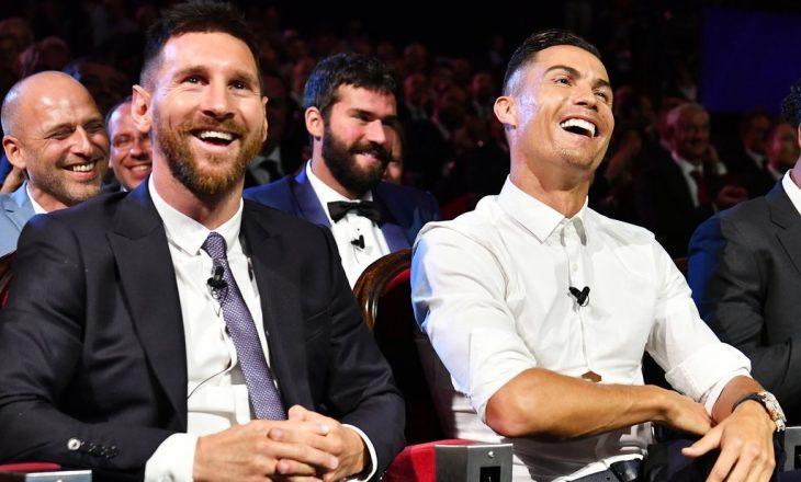 """""""Ronaldo e meritoi Topin e Artë para Messit, do ta kishte fituar nëse do të ishte në Madrid"""""""