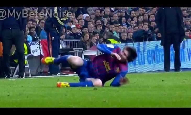 Videoja me ndërhyrjet e ashpra të Ramosit ndaj Messit është duke bërë xhiron në internet
