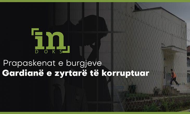 InDoks | Prapaskenat e burgjeve- gardianë e zyrtarë të korruptuar
