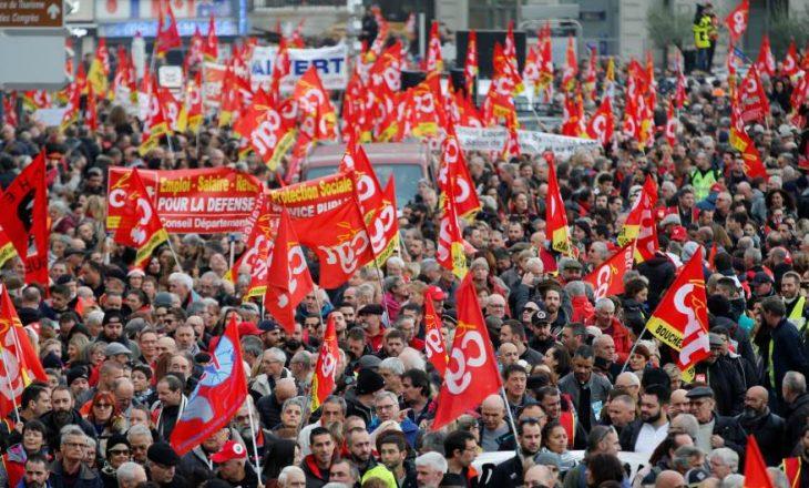 Reforma e sistemit pensional bllokon Francën