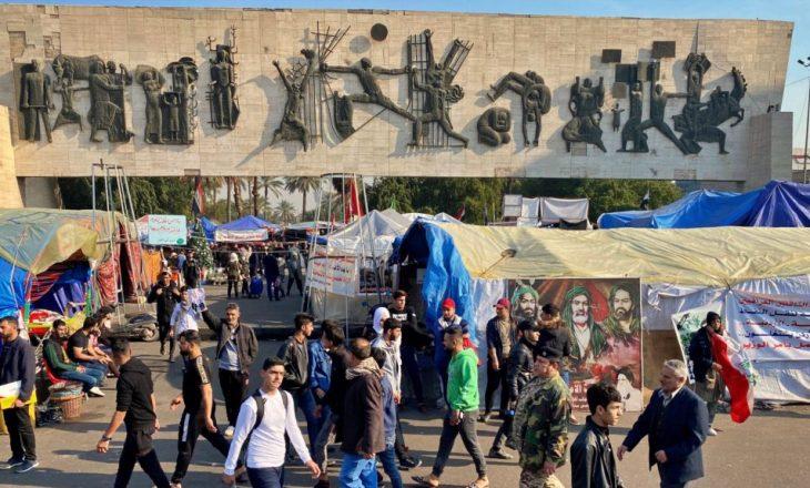 Protesta në Irak para afatit për emërimin e kryeministrit të përkohshëm