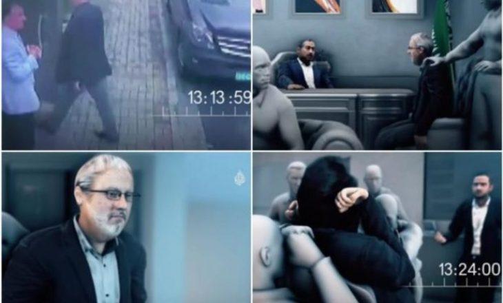 Dalin pamjet 3D: Kështu u masakrua Khashogi në konsullatën saudite në Stamboll