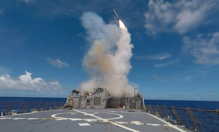 SHBA-ja teston një raketë balistike