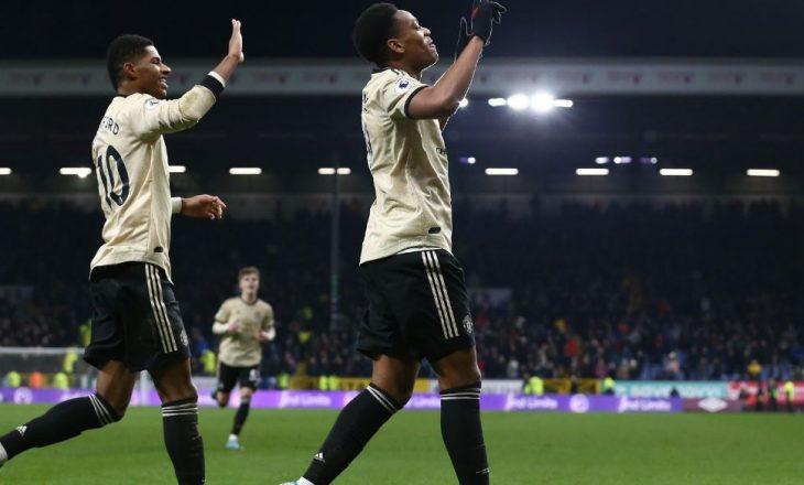 Mbyllet ndeshja, Burnley – United