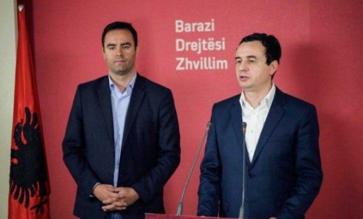 Deklaratat kundërthënëse Kurti-Konjufca për ndarjen e posteve me LDK-në