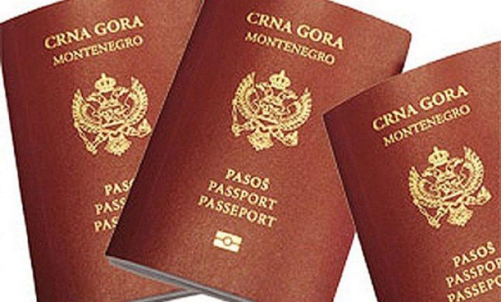 Në Mal të Zi më shumë pasaporta se qytetarë