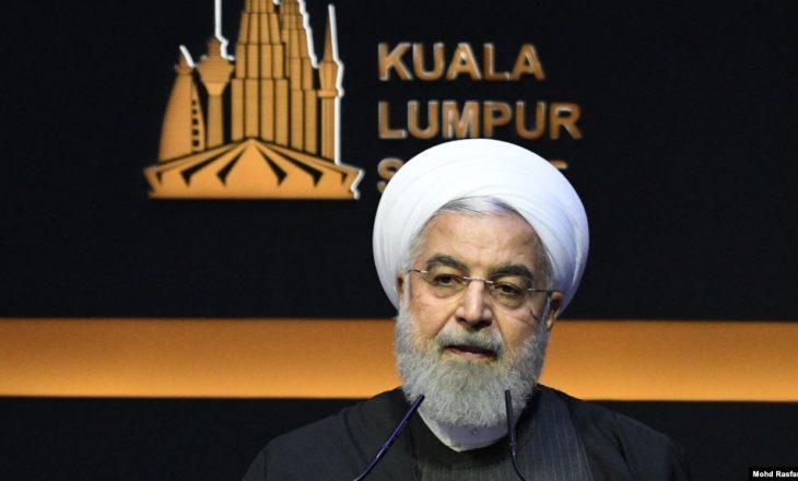 """Rohani kërkon nga vendet myslimane të luftojnë """"hegjemoninë"""" e SHBA"""