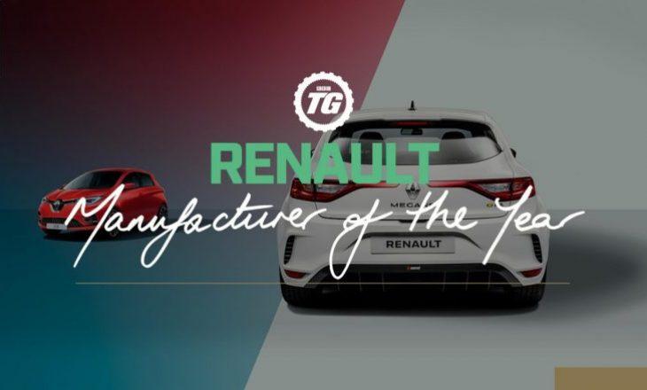 Renault shpallet prodhuesi i vitit 2019 nga Top Gear, Megane RS-R Trophy vetura me performancën më të mirë!