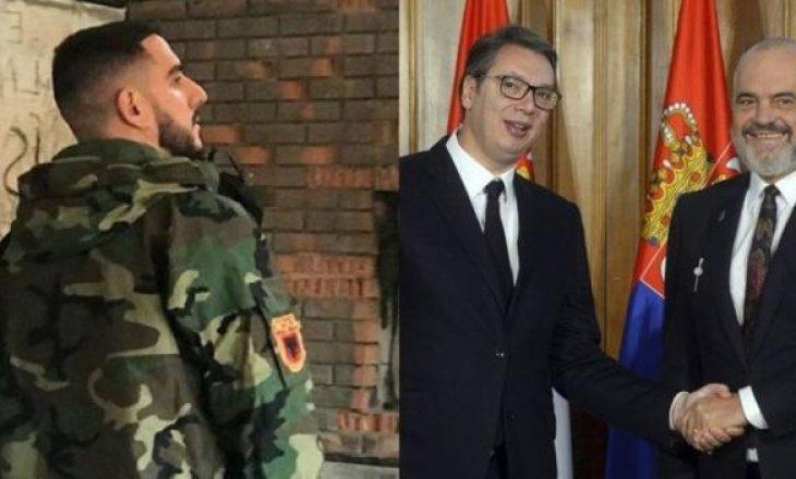 """""""Kosovës thikën pas shpine"""", reperi kosovar i kushton fjalë Ramës: Gjaku i fëmijëve në varre…"""