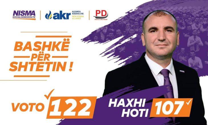 Arrestohet Haxhi Hoti pasi kërcënoi Albin Kurtin