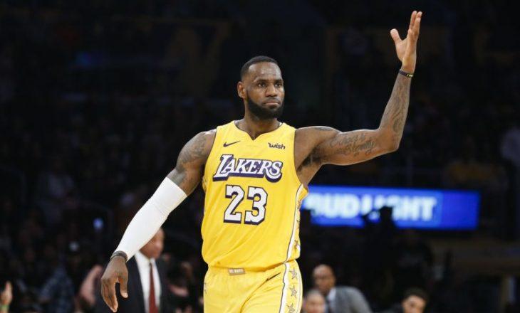LeBron James arrin rekord unik në NBA