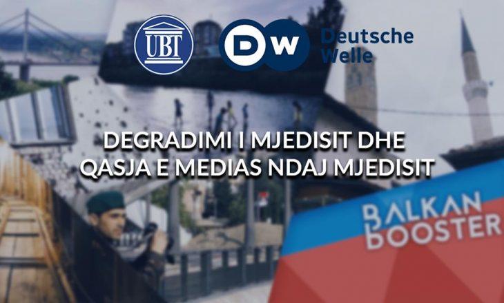 """Nesër, UBT dhe Radio Deutsche Welle do të mbajnë debatin: """"Degradimi i mjedisit dhe qasja e medias ndaj mjedisit"""""""