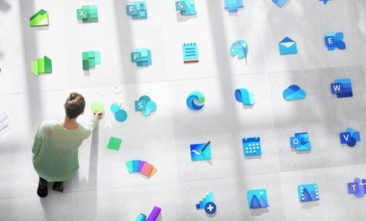 Microsoft është duke punuar në mbi 100 dizajne të reja ikonash