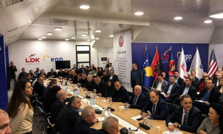 Fillon mbledhja e Këshillit të Përgjithshëm të LDK-së