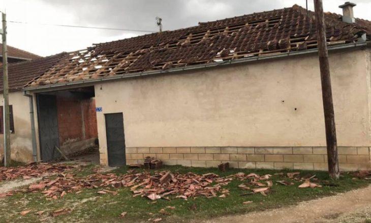 Erërat e forta shkaktojnë dëme të mëdha në Istog