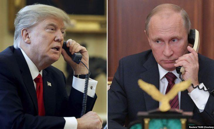 Putin falenderon Trumpin për ndihmën në parandalimin e akteve terroriste