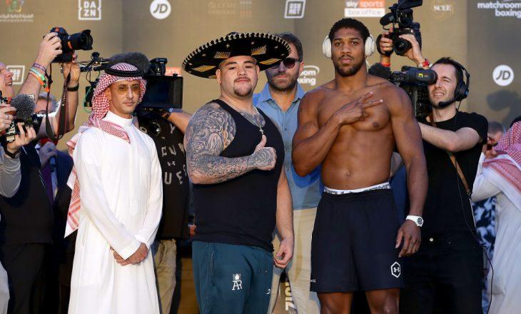 Joshua ka humbur peshë për meçin ndaj Ruizit, ja sa peshon tani boksieri anglez