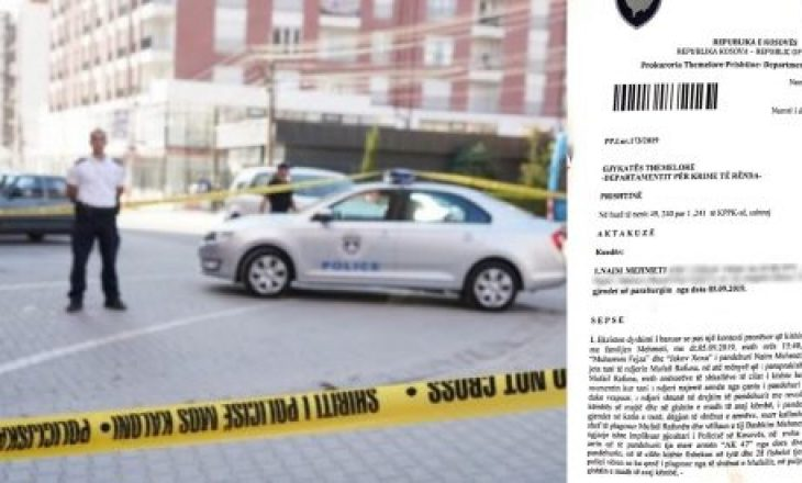"""Tre faqe aktakuzë për tre të vrarët në masakrën në """"Mati 1"""""""