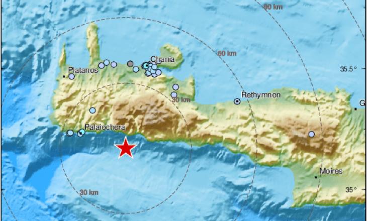 Tërmet në Greqi – kjo është shkalla e dridhjeve