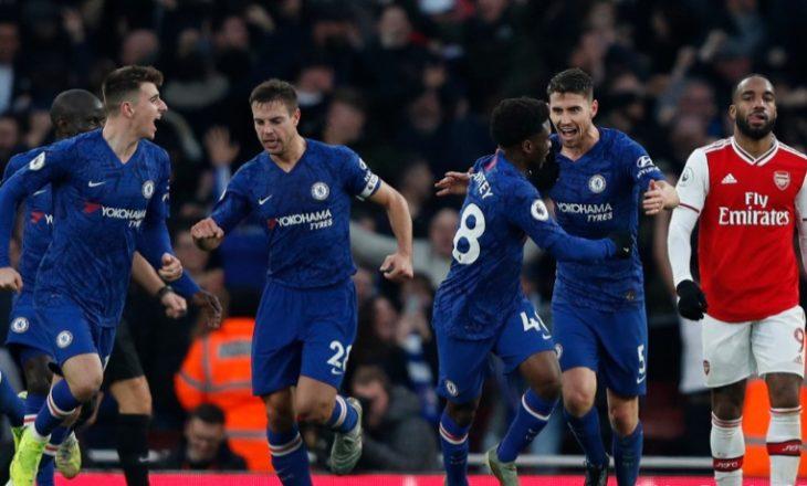 Chelsea e fiton derbin e madh të Londrës, mund Arsenalin në 'Emirates' [Video]