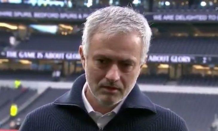 Prekëse: Mourinho gati sa nuk përlotet në transmetim live [Video]