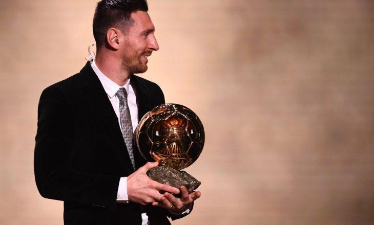 Këto janë votat më interesante për 'Topin e Artë' – Messi as në top 5-she
