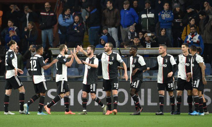 Notat e lojtarëve, Sampdoria 1-2 Juventus