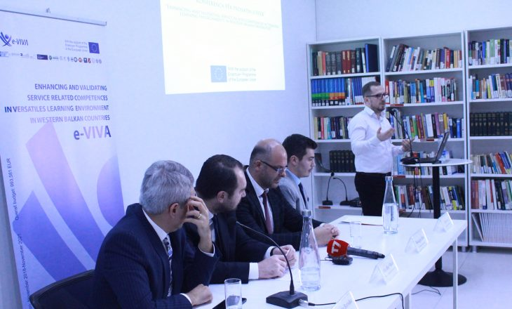 Pjesë e Projektit e-VIVA, të financuar nga BE-ja Universiteti 'Kadri Zeka' dhe Kolegji Universum
