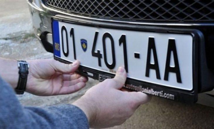 Kosova ende pa targa të unifikuara të automjeteve