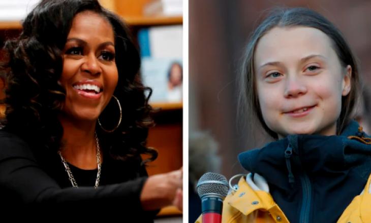 Pas sulmit nga Trump-i, Greta Thunberg merr përkrahje nga Michelle Obama