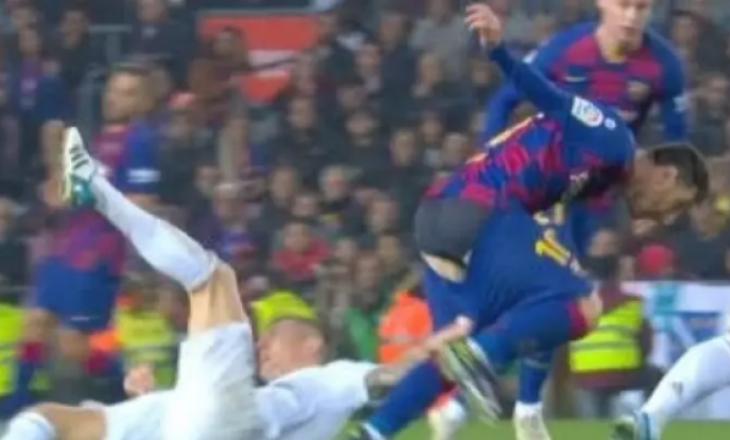 Tifozët e tallin Kroosin për mënyrën se si tentoi ta ndalë Messin (VIDEO)