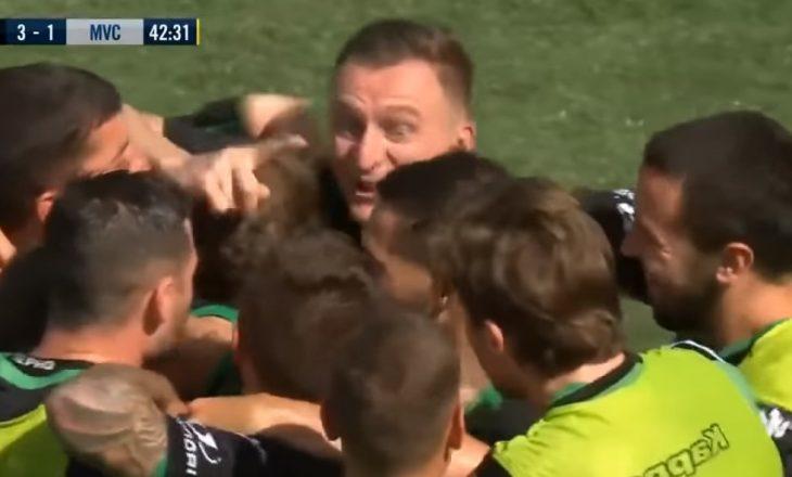 Berisha nuk ka të ndalur, shënon dy gola në Australi