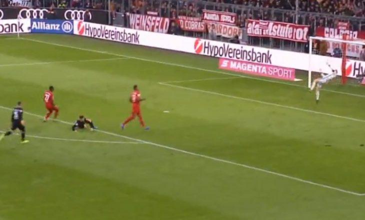 Rashica shëtit mbrojtjen e Bayernit dhe shënon eurogol (VIDEO)