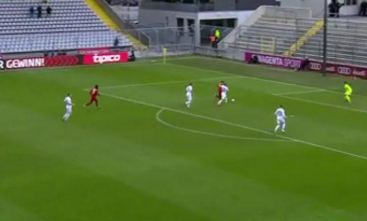 Futbollisti shqiptar shënon gol për Bayernin (VIDEO)