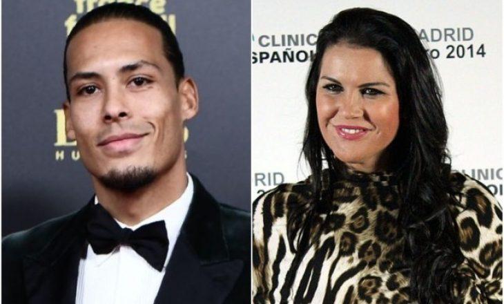 """Motra e Ronaldos 'shpërthen' ndaj Van Dijkut: """"I dashur Virgil, kur të kesh fituar…"""""""