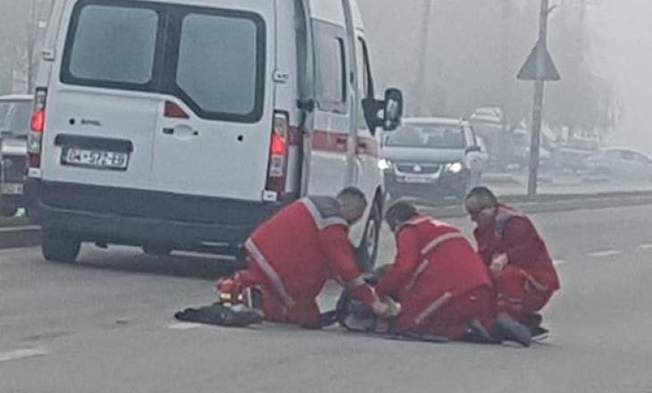 Kjo është gjendja shëndetësore e këmbësores së goditur nga vetura në Prizren