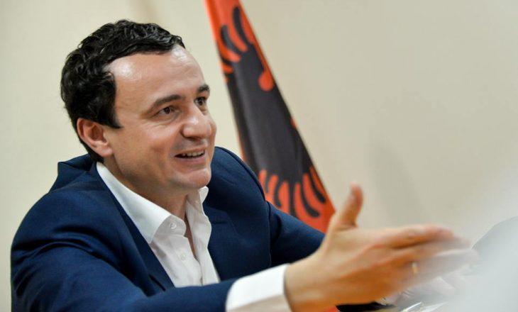 Presidenti Thaçi pritet ta mandatojë sot Albin Kurtin për formimin e Qeverisë