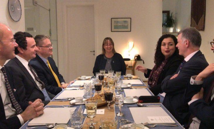 Ambasada e Britanisë së Madhe kërkon nga VV dhe LDK formim të shpejtë të qeverisë